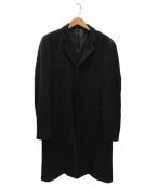 EMPORIO ARMANI(エンポリオアルマーニ)の古着「チェスターコート」|ブラック
