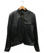 VANSON(バンソン)の古着「ライナー付きレザージャケット」 ブラック