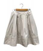 ()の古着「フレアスカート」|ピンク