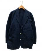 COMME des GARCONS(コムデギャルソン)の古着「3Bジャケット」 ブルー