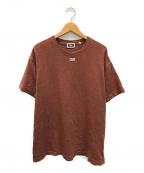 KITH(キス)の古着「フロントロゴTシャツ」 ブラウン