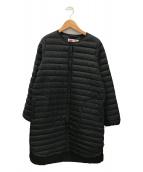 ()の古着「アークリーロングインナーダウンコート」 ブラック
