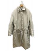 ()の古着「中綿入りバルマカーンコート」 ベージュ