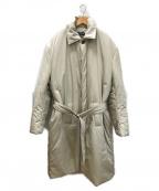 BALENCIAGA(バレンシアガ)の古着「中綿入りバルマカーンコート」|ベージュ