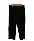 ()の古着「ツータックパンツ」|ブラック