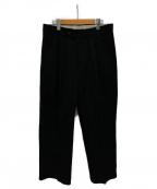 NEAT(ニート)の古着「ツータックパンツ」|ブラック