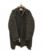 KOLOR(カラー)の古着「ハウンドトゥースシングルコート」|マルチカラー