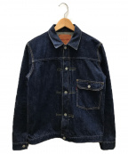 FULLCOUNT(フルカウント)の古着「1stタイプデニムジャケット」 インディゴ