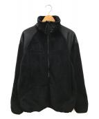 ()の古着「フリースジャケット」 ブラック