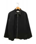()の古着「ZIP SHIRTS」 ブラック