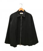 MARKA(マーカ)の古着「ZIP SHIRTS」|ブラック