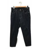 ()の古着「テーパードデニムパンツ」|ブルー