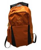 ()の古着「バックパック」|オレンジ