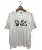 ()の古着「ロゴTシャツ」 ホワイト