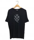 GIORGIO ARMANI(ジョルジョアルマーニ)の古着「VネックTシャツ」|ネイビー