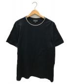 ()の古着「トリムTシャツ」|ネイビー
