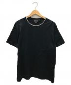 EMPORIO ARMANI(エンポリオアルマーニ)の古着「トリムTシャツ」|ネイビー