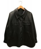 ()の古着「JW レザーCPOジャケット」|ブラック