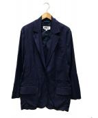 ()の古着「オーバーサイズジャケット」 ブルー