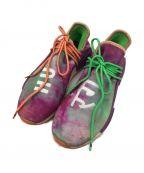 adidas(アディダス)の古着「ローカットスニーカー」 パープル