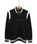 ()の古着「ニットブルゾン」|ブラック
