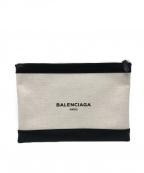 BALENCIAGA(バレンシアガ)の古着「クラッチバッグ」|アイボリー