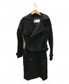 LE CIEL BLEU(ルシェルブルー)の古着「ライナー付トレンチコート」 ブラック