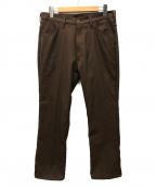 Wrangler(ラングラー)の古着「フレアパンツ」 ブラウン