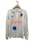 NIKE×OFF WHITE(ナイキ×オフホワイト)の古着「Mercurial NRG x FB Jersey」 ホワイト