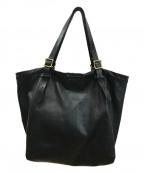 SLOW(スロウ)の古着「レザートートバッグ」|ブラック