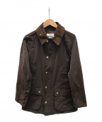 Barbour()の古着「BEDALE」 ブラウン