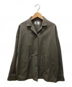 Pilgrim()の古着「Nadine Organic Cotton Shirt Ja」|グレー