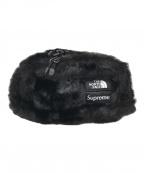 SUPREME×THE NORTH FACE(シュプリーム ×ザノースフェイス)の古着「Supreme Fur Waist Bag」 ブラック