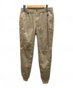 F.C.R.B.(エフシーレアルブリストル)の古着「VENTILATION RIB PANTS」|ベージュ