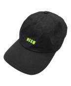MSGM(エムエスジーエム)の古着「ロゴキャップ」|ブラック