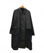 TOGA(トーガ)の古着「ステンカラーコート」|ブラック