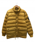 HUF(ハフ)の古着「中綿ジャケット」 イエロー