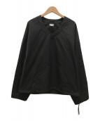 ()の古着「プルオーバーシャツ」 グレー
