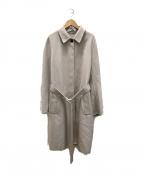 JIL SANDER(ジルサンダー)の古着「カシミヤ混ウールコート」|ベージュ