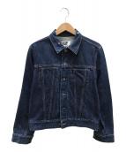 ()の古着「デニムジャケット」 ブルー