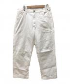 orSlow(オアスロウ)の古着「ホワイトデニムパンツ」|ホワイト