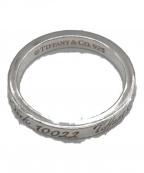 TIFFANY & Co.(ティファニー)の古着「ナローリング」|シルバー