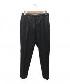 GRAMICCI(グラミチ)の古着「SLIM-FIT EASY SLACKS BY LORO P」|ブラック