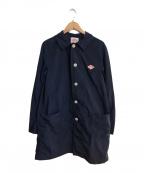 DANTON × BEAMS(ダントン ビームス)の古着「ナイロンタフタコート」 ネイビー