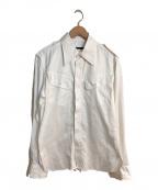 GUCCI(グッチ)の古着「コットンシャツ」|ホワイト
