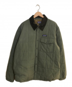 Patagonia()の古着「Isthmus Quilted Shirt Jacket」|グリーン