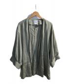 ()の古着「再生繊維セルロースカーディガン」 グリーン