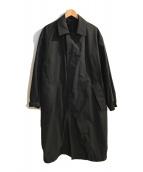 ()の古着「バルマカーンコート」|ブラック