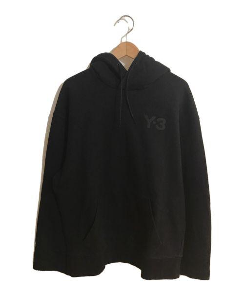 Y-3(ワイスリー)Y-3 (ワイスリー)  M CLASSIC CHEST LOGO HOODIE ブラック サイズ:Sの古着・服飾アイテム