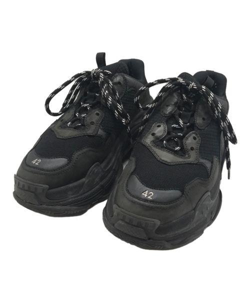 BALENCIAGA(バレンシアガ)BALENCIAGA (バレンシアガ)  Triple S Sneaker 'All Black D ブラック サイズ:42の古着・服飾アイテム